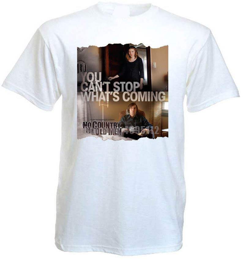 No Country For Old Men V3 T Shirt Movie Poster Coen Brothers All Sizes S-5Xl image
