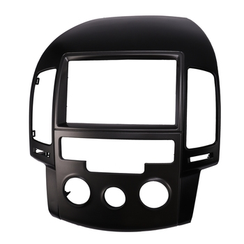 2 Din Radio Fascia Facia for Hyundai I30 FD I30CW Stereo Panel Radio Dash Kit Mounting Trim Frame - Left Hand Drive