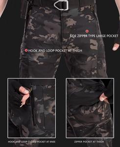 Image 4 - Hán Hoang Nam Sharkskin Chiến Thuật Quần Hàng Hóa Chiến Đấu SWAT Huấn Luyện Quân Đội Quân Sự Quần Airsoft Châu Á Quần Đi Bộ Đường Dài Săn Bắn Quần