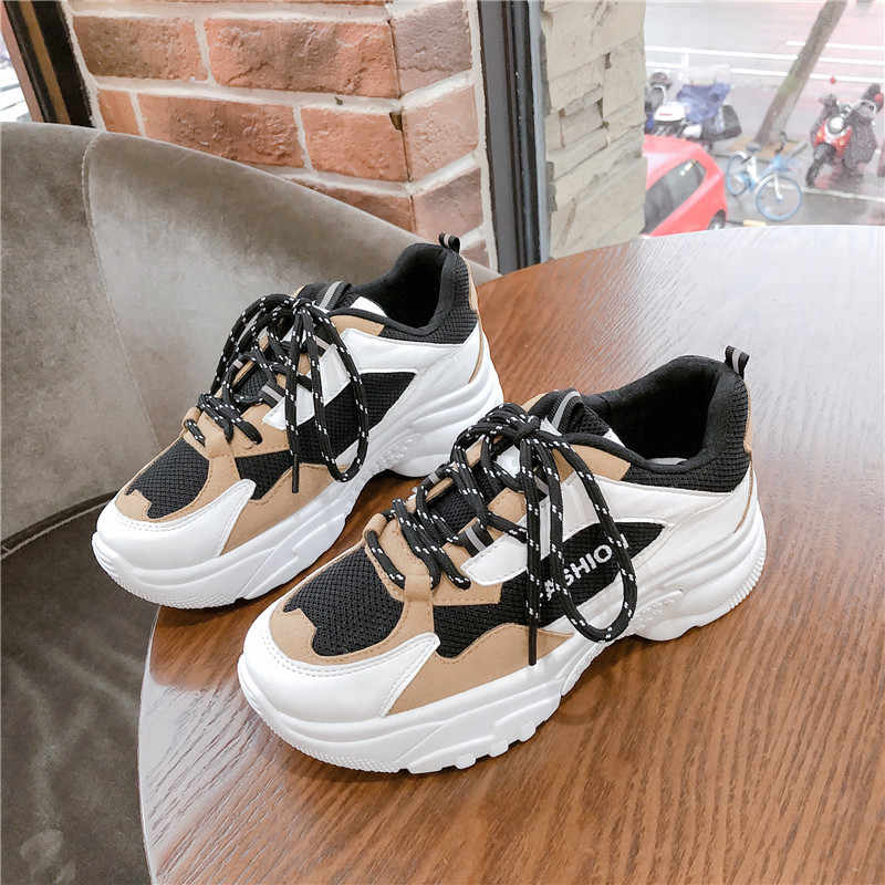 Bjakin Women Chunky Sneakers New Female