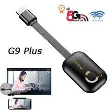 TV Stick 2.4G 5G 4K klucz sprzętowy Wifi do wyświetlacza Netflix Youtube projektor ekran lustrzany Miracast Chromecast Airplay odbiornik DLNA