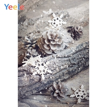 Yeele Christmas Photocall Wood Branch Fallen Snow Photography Backdrops Personalized Photographic Backgrounds For Photo Studio