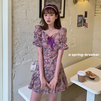 2020 spring summer autumn new woman Lady fashion casual sexy women Dress female party dress Vq18
