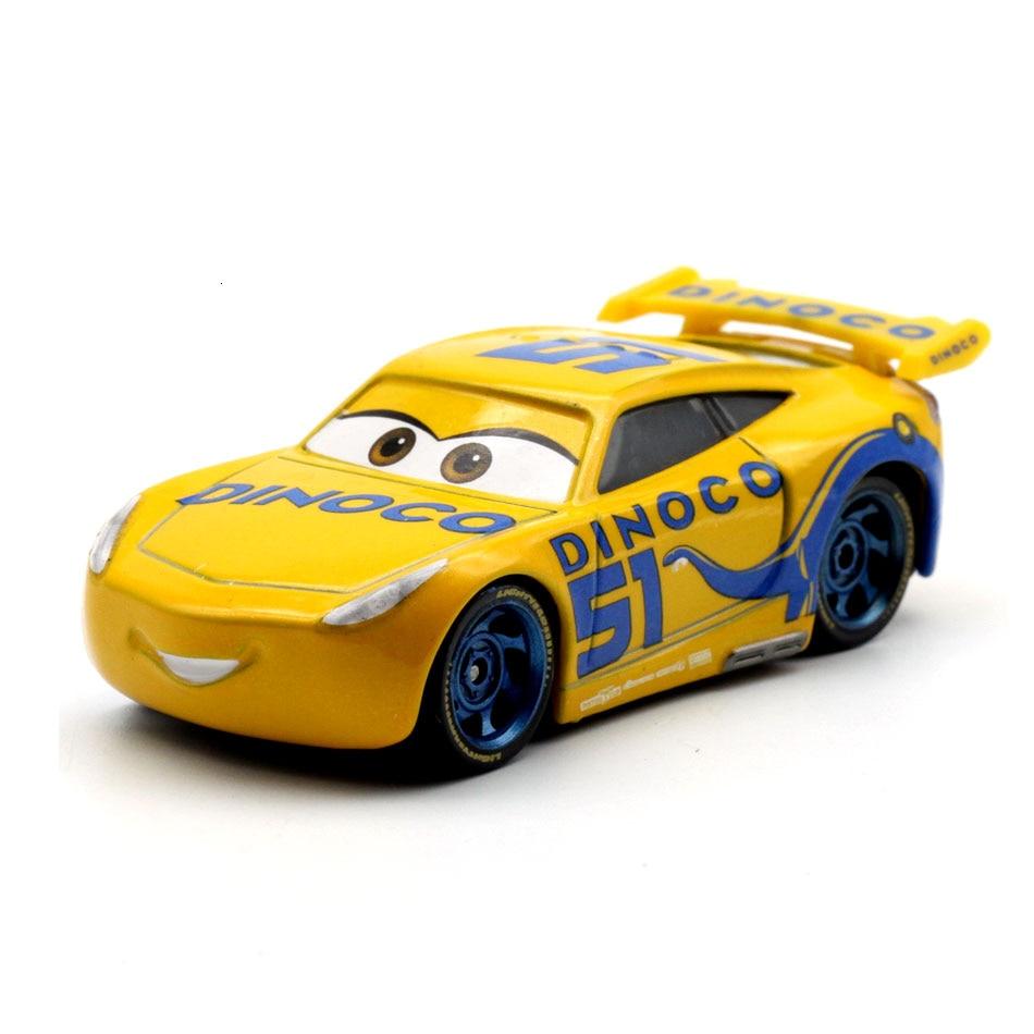 Disney Pixar тачки 3 20 стильные игрушки для детей Молния Маккуин Высокое качество Пластиковые тачки игрушки модели персонажей из мультфильмов рождественские подарки - Цвет: 26