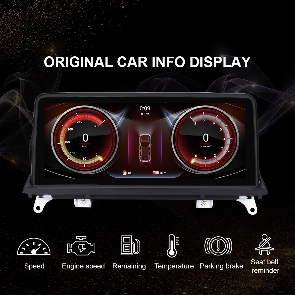 EBILAEN Android 10,0 Auto-Multimedia-Player für BMW X5 E70/X6 E71 (2007-2013) CCC/CIC System Einheit PC Navigation Autoradio IPS 4G