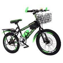 18 inç çocuk bisikleti dağ bisikleti moda ve dayanıklı serbest denge bisikleti uygun bisiklet öğrenciler için kar bisiklet