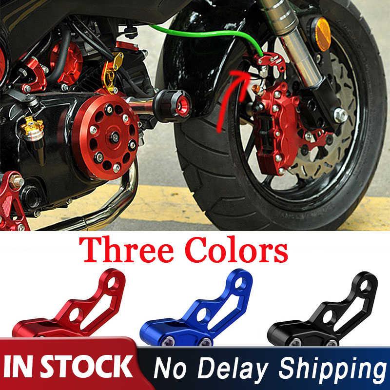 ユニバーサルアルミオートバイのオイルパイプケーブルラインクランプクリップケーブルチューブブレーキラインチューブ用ダートバイク Atv レッドブルー黒