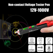 AC/DC Voltage Test Pencil 12V/48V-1000V Sensitivity Tool DAG-ship