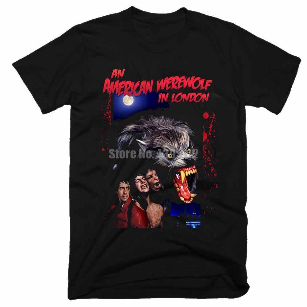 An American Werewolf In London Man'S Trump T-Shirts Anarchy Shirt Black Shirts Corgi T Shirts Black Top Ixygwa