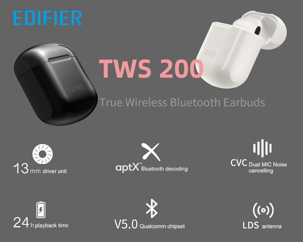 EDIFIER TWS200 TWS Wireless Lollipods Earbuds Pakistan brandtech.pk