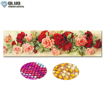 5D Diamond Painting Mosaic Rose DIY Partial Drill Rhinestone Flower Diamond Embroidery Cross Stitch Kits Diamond Art фото