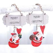 Buy Santa Claus Figurine Decoration Pendant Christmas Decoration Pendant Resin Miniature Figurine Christmas Home DecorationCM directly from merchant!