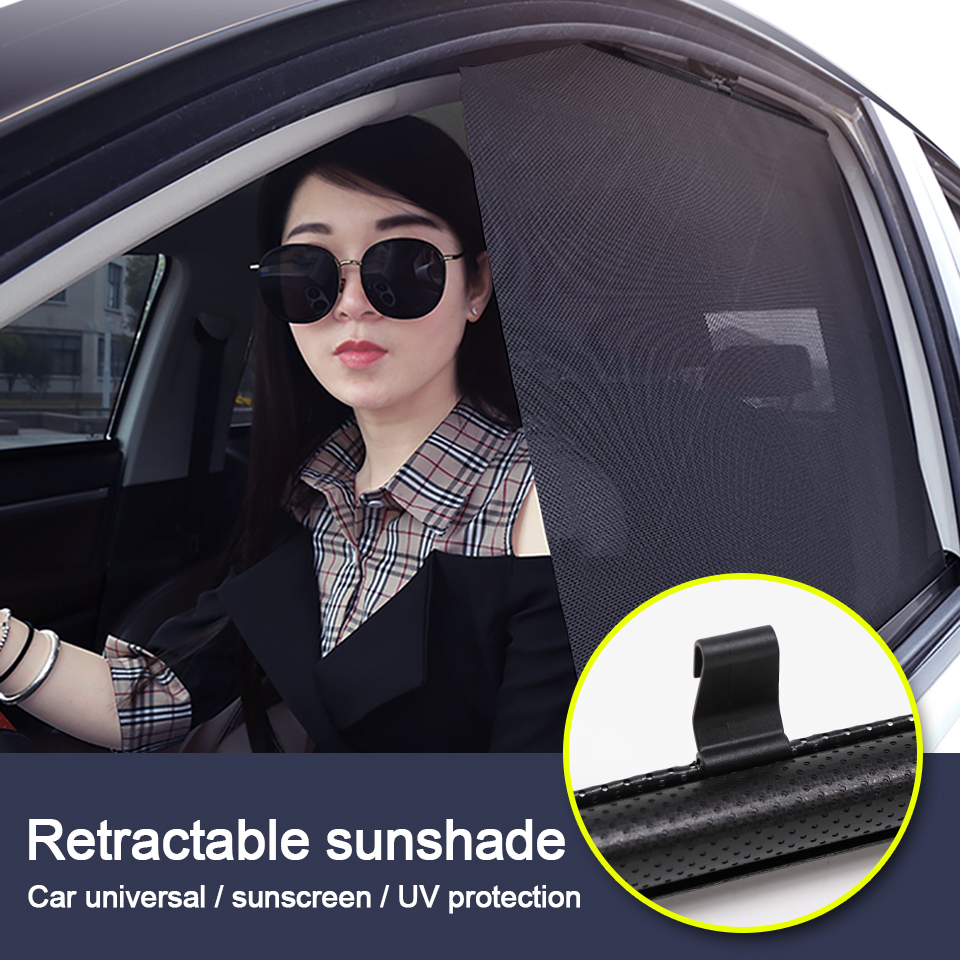 LOEN New Car Side window Sunshade Windshield Sunshade Cover Shield Curtain Auto Sun Shade Block Anti-UV for SUV Cars