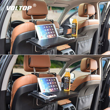 Universal Car Mount Bracket Accesories Phone Holder for Portable Coffee Rack Laptop Desk Steering Wheel Work Drink Seat Tray