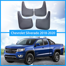 For Chevrolet Silverado 2018-2020 Mud Flap fender Splash Guard Mudguard Automobiles accessories Car styling