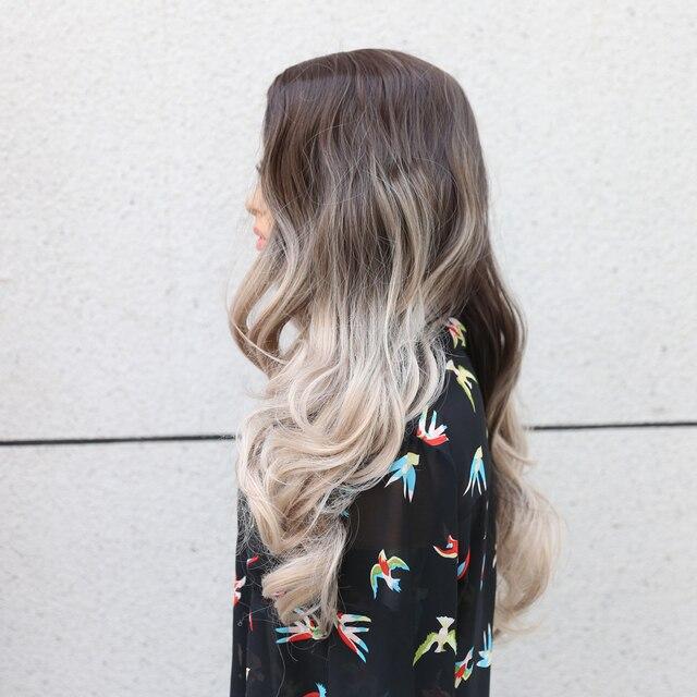 Фото парик sivir из синтетических волос парики для женщин с натуральными