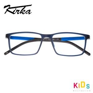Image 4 - Kirka Kinder Brillen TR 90 Kinder Optische Gläser Rahmen Flexible Brille Rahmen für Kinder Spektakel Rahmen TR90 Unisex Solide