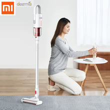 2019 New Xiaomi Deerma VC20S Vacuum Cleaner Auto-Vertical Handheld Cordless Stick Aspirator Vacuum Cleaners 5500Pa For Home Car vertical vacuum cleaner bosch bbh216 wireless dustcontainer cleaners for home