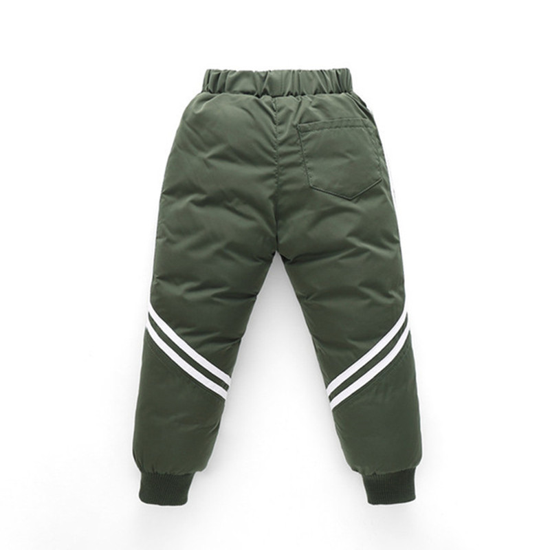 Thicken Winter Pants For Baby Boys Girls High Waist Warm Children Clothes Waterproof Kids Boy Fashion Trousers Baby Long Pants 5