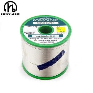 Image 1 - Fil à souder hifi 0.8mm produit scintillant japonais contenant de largent 3% fil à souder de haute qualité un lot de 5m