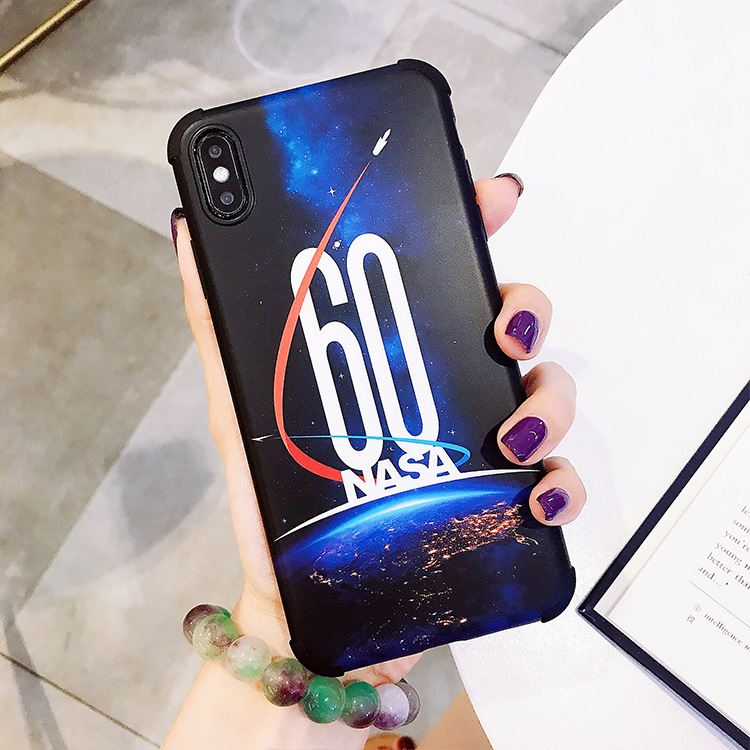 NASA Phone Case For Iphone X Xs Xr Max 6 7 8 S Plus 60Th Anniversary Commemorative Edition