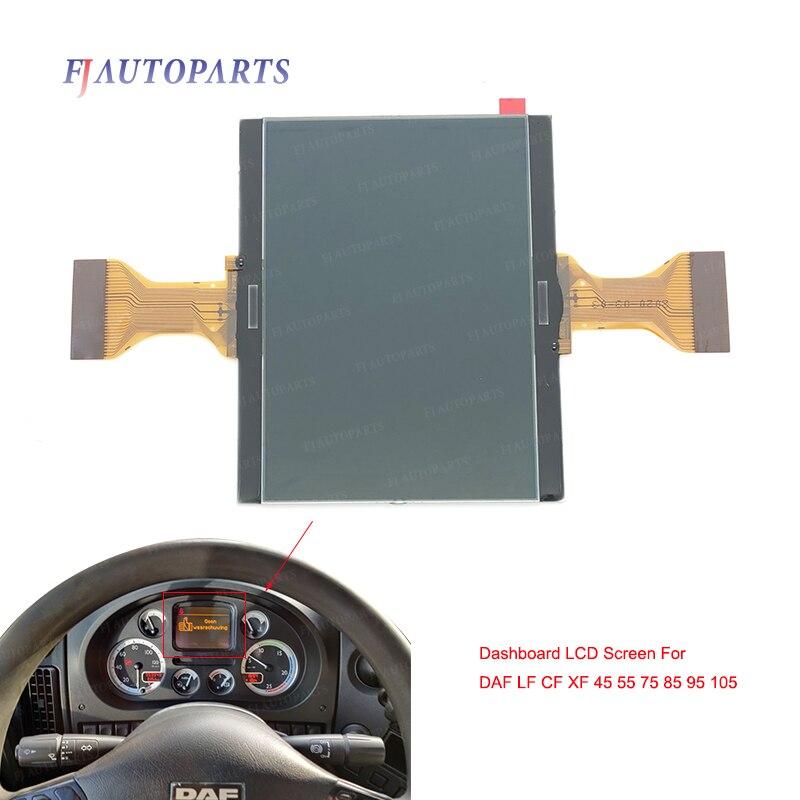 Dashboard LCD Screen for DAF LF CF XF 45 55 75 85 95 105 Speedmeter Pixel Repair Instrument Cluster LCD Display