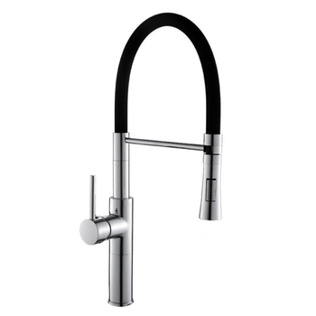 цена на Pull Down Kitchen Faucet Grhe Concetto Single Handle Dual Spray Pull Down Torneira Cozinha Basin Sink Hot Cold Water Tap Mixers