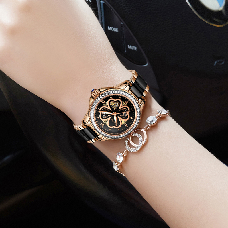 Image 5 - Montre Femme SUNKTA New Rose Gold Watch Women Quartz Watches Ladies Top Brand Luxury Female Wrist Watch Girl Clock Wife gift+Box-in Women's Watches from Watches