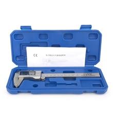 Étriers en acier inoxydable pied à coulisse numérique 150mm acier pied à coulisse numérique micromètre électronique outil de mesure