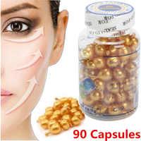 90 Pcs/Flasche Vitamin E Essenz Kapseln Serum Spot Akne Entfernen Bleaching Creme Essenz Ve Gesichts Sommersprossen Kapsel
