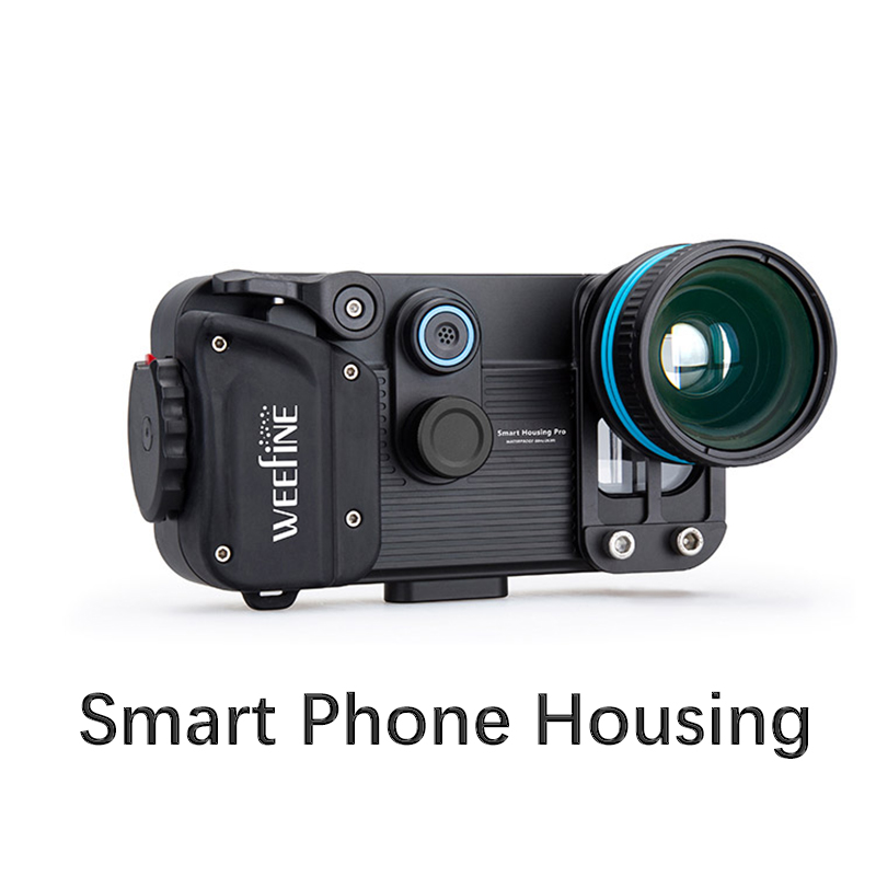Weefine Smart Phone Housing for IPhone X/ 8/7Plus/7 Samsung Android Universal underwater photography 1