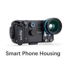 NiteScuba dalış su geçirmez Weefine akıllı telefon konut için IPhone X/ 8/7 artı/Samsung Android evrensel sualtı fotoğrafçılığı