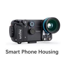 Nitescoba mergulho à prova dweeágua weefine telefone inteligente habitação para iphone x/8/7 plus/7 samsung android universal fotografia subaquática