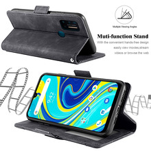 For Umidigi A7 Pro Card Case Retro PU Leather Wallet Multi-card Slots Magnetic Shell Flip Stand Protective Cover Umidigi A7 Pro vintage leather wallet echo dune 5 case flip luxury card slots cover magnet stand phone protective bags