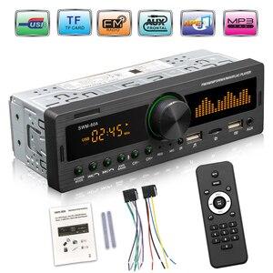 VODOOL 1 DIN Car Radio Dual Screen Bluetooth Multimedia MP3 Player AUX/USB/FM stereo Audio Player Car Electric Audio Copy