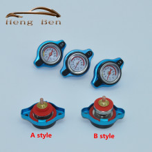 Racing Temperature Gauge With Utility safe 0.9 and 1.1 and 1.3 Bar Water Temp Gauge Thermo Radiator Cap Tank Cover