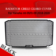 Buy For YAMAHA FZ09 MT09 MT-09 FZ-09 2018 2019 2020 Aluminum Motorcycle Radiator Grille Guard Moto Protector Grill Cover Accessories directly from merchant!