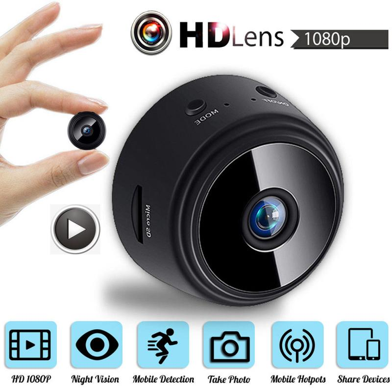 1080P HD Night Vision Smart WIFI  Micro Mini Camera Video Cam Wireless Tiny DV Miniature Microchamber Recorder Support TF Card