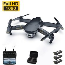 Drone 1080p HD WiFi transmission fpv drone one-button return Quadcopter height keep RC helicopter with camera
