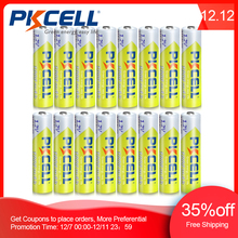16pcs/Lot PKCELL 1.2V 1000mAh NiMh AAA Rechargeable Battery Ni mh 3A Batteries AAA Battria High Energy  For flashlight toys