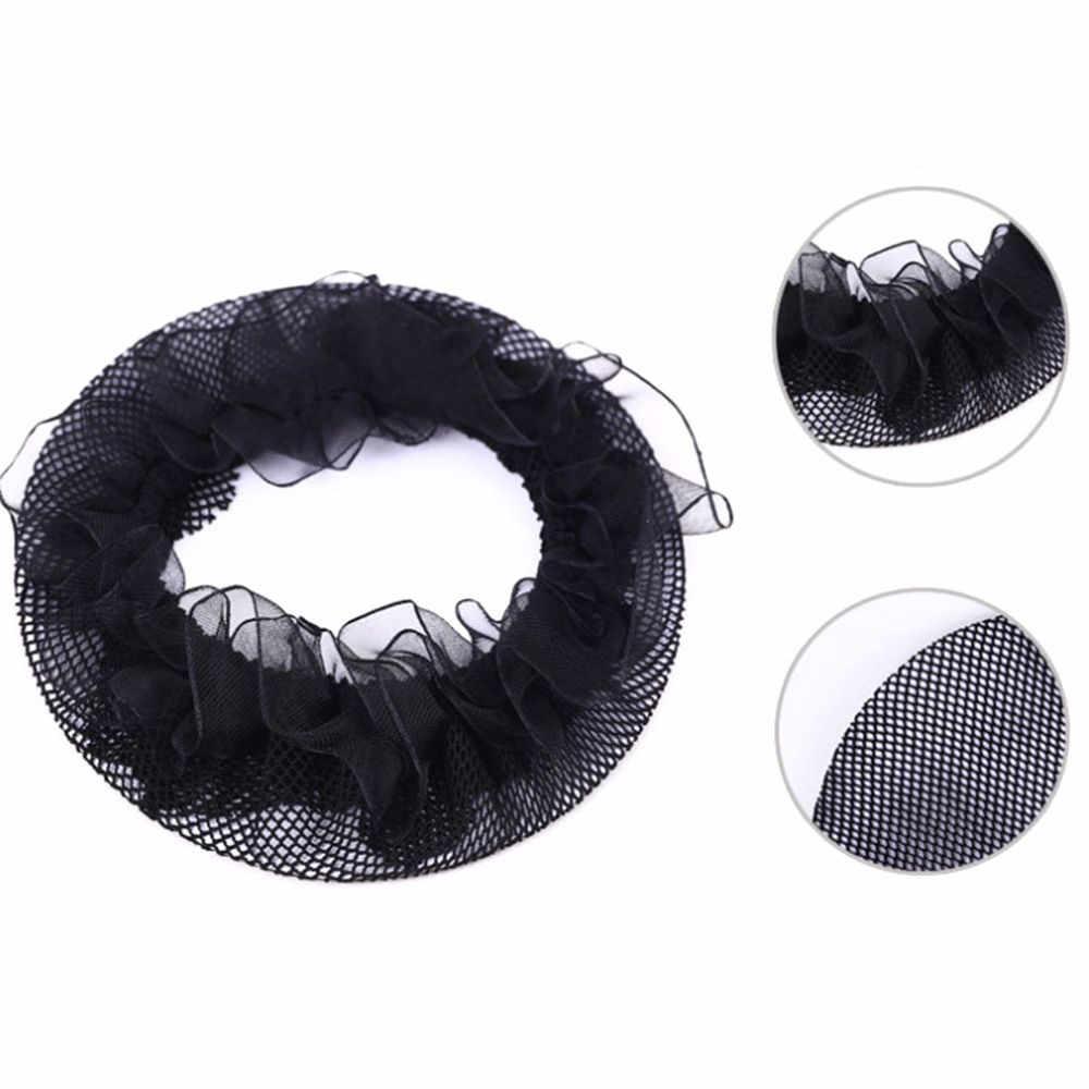 Hot Sale Women Ballet Dance Skating Snoods Hair Net Bun Cover Black High quality Wig Cap Hair net for Weave Hairnets Wig Nets