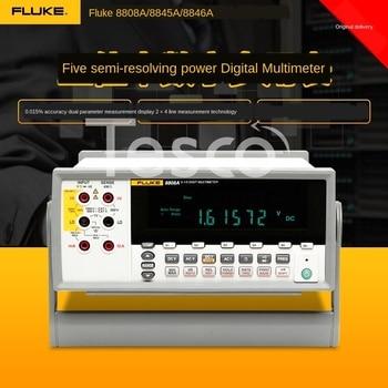 Fluke F8808A/8845A/8846 five and a half six half desktop digital multimeter high precision half a war