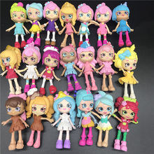 Miniature Shopping Fruit Dolls Action Figures for Family Kids Gift Playing model Toys Special offer Random no repeat