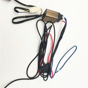 Image 5 - เส้นใยคาร์บอนไฟเบอร์Pad 6เกียร์LEDสวิทช์Universalสำหรับพวงมาลัยรถ