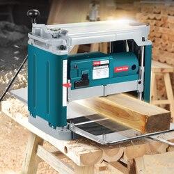 12 zoll Holzbearbeitung Multi-funktion Hobel Power Werkzeuge Haushalt einseitig Hohe-power Desktop Hobel Hobel Hobel hobel