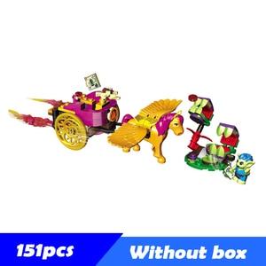NEUE Jungen Mädchen Serie Baustein Spielzeug Sets Elfen Breakout von König der Festung Haus Burg Blöcke Ziegel Spielzeug Für kinder