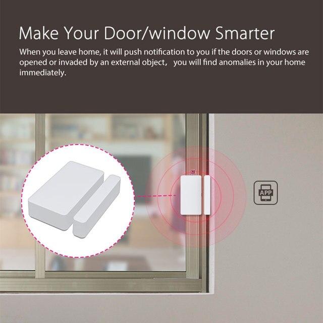 Tuya Smart WiFi Door Sensor Detector Door Window Open/Closed Detectors App Notification Alarm Support Alexa Google Home 5