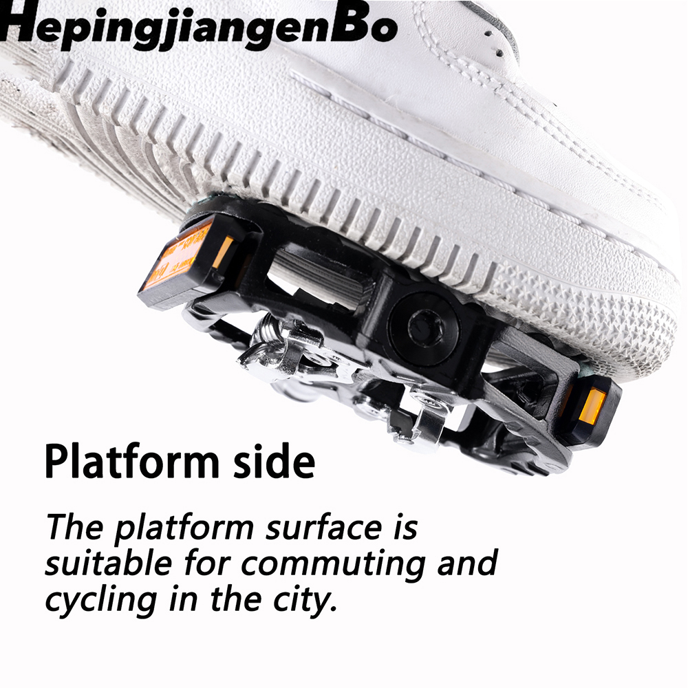 HEPINGJIANGENBO MTB Pedal Mountain Bike Pedals Cycling Pedals zp 109s