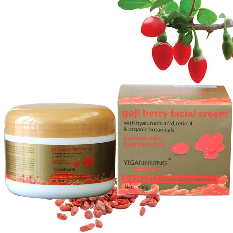 Goji Berry Face Cream Nourishing Anti-wrinkle Moisturizing Face Care Sodium Hyaluronate Essence Cream Skin Care