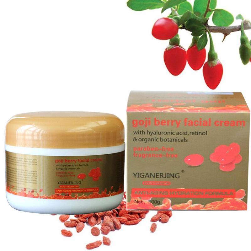 Goji Berry Face Cream Nourishing Anti-wrinkle Moisturizing Face Care Sodium Hyaluronate Essence Cream Skin Care